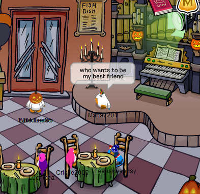 Club Penguin Pizza Parlor