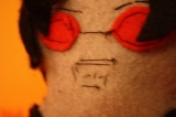 How Not to Sew (a Terezi Pyrope Doll)